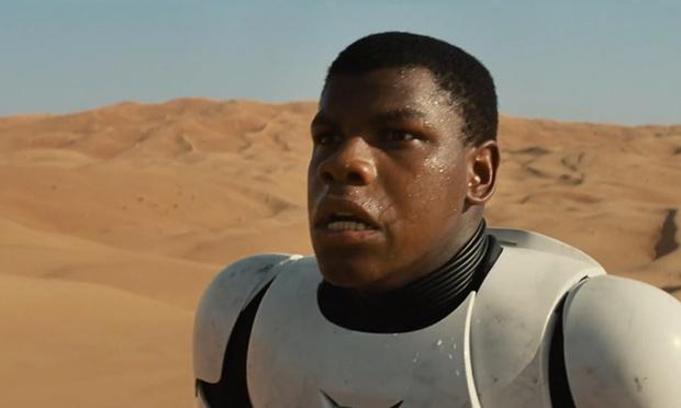 John Boyega, the new hero in the 7th installment of the Star Wars franchise.