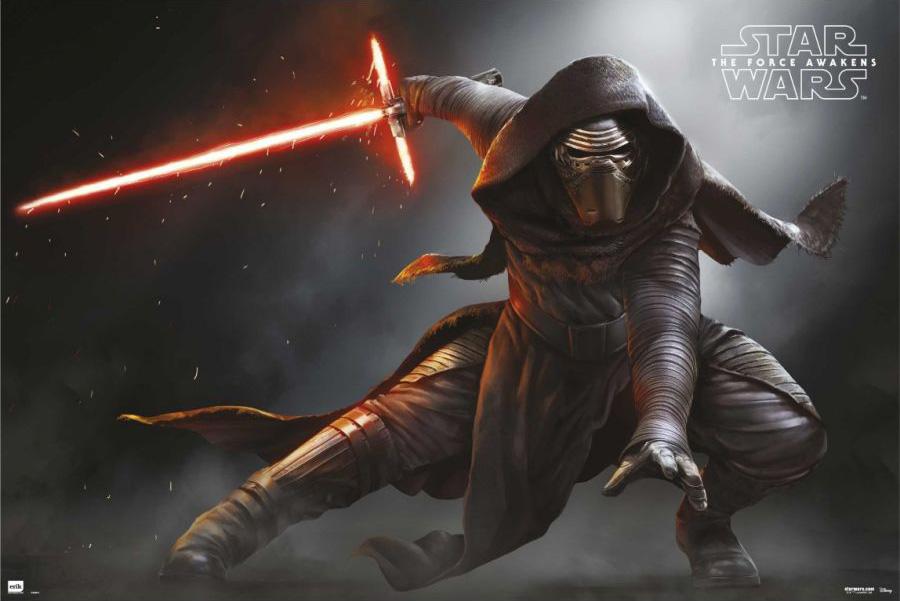 A new weilder of the Dark Side, Kylo Ren