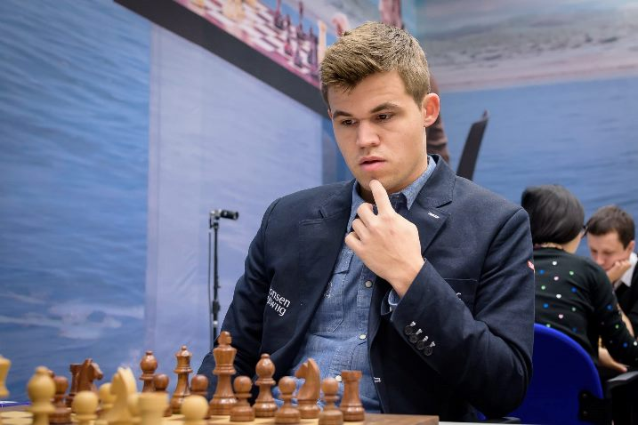 Magnus Carlsen, the worlds #1 ranked chess player and Grand master.