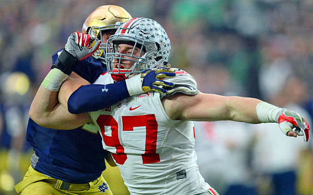 Joey Bosa believes he is the best player in the draft this year.