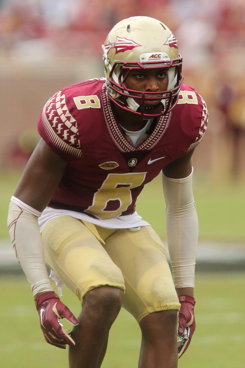 Jalen Ramsey may be the best corner or safety in the draft this year.
