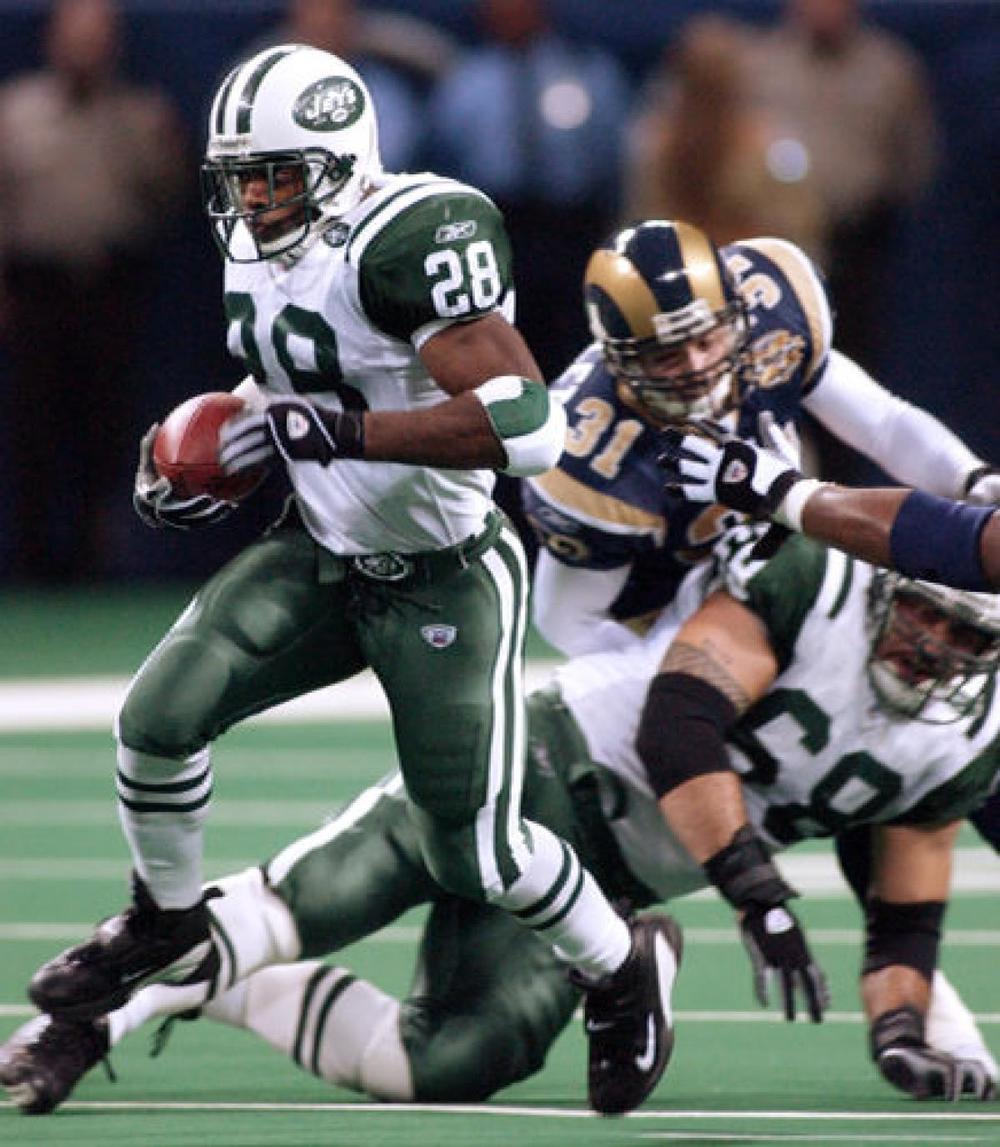 Curtis Martin, a Hall of Famer who was overlooked coming into the draft.