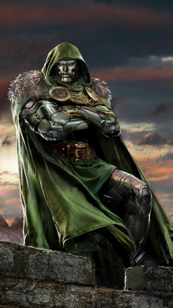 Victor Von Doom for those of you who don't know.