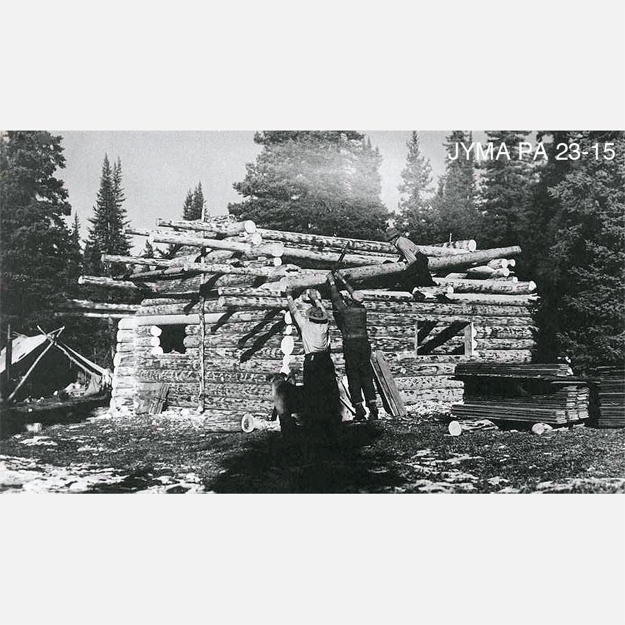 Building Shangrila Cabin