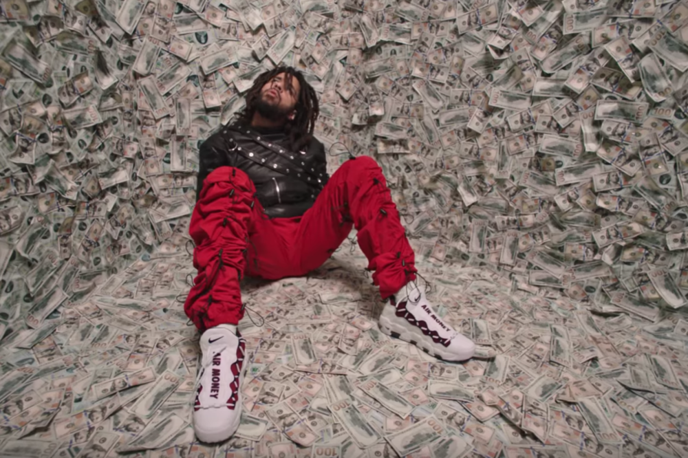 Pictured: Hip-Hop Artist, J. Cole