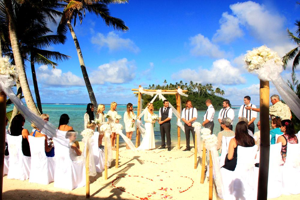 Rarotonga weddings