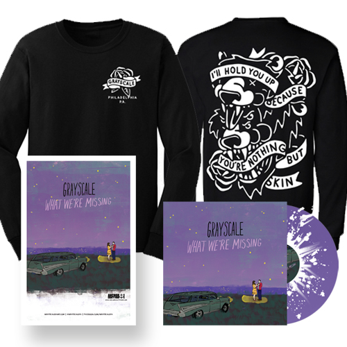 What We're Missing LP + Longsleeve Shirt                              PRE-ORDER HERE