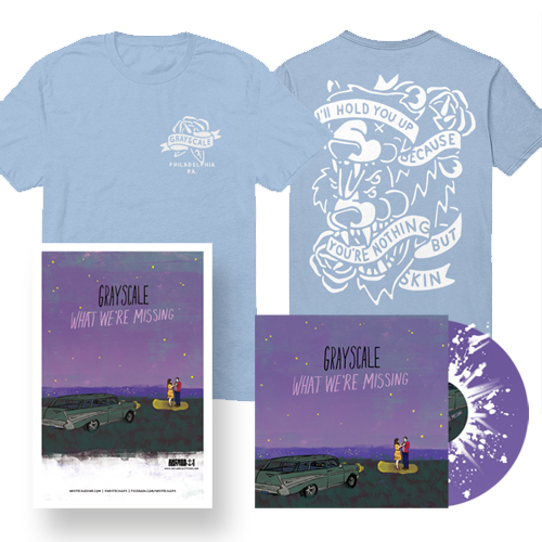 What We're Missing LP + T-Shirt                              PRE-ORDER HERE