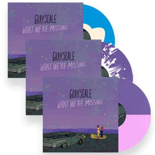 ALL THREE VINYL VARIANTS                               PRE-ORDER HERE