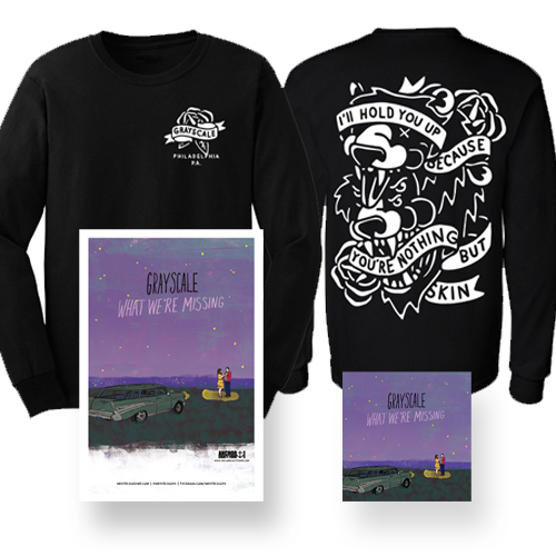 What We're Missing CD + Longsleeve Shirt                              PRE-ORDER HERE