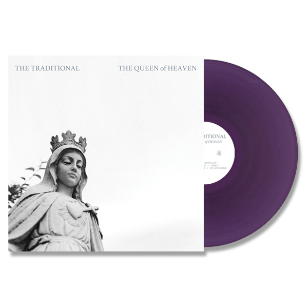 "The Traditional - 'The Queen of Heaven'  12"" EP (Purple) $14.00 USD"