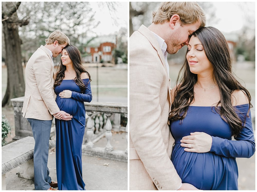 Brooks Museum Pregnancy Photo shoot