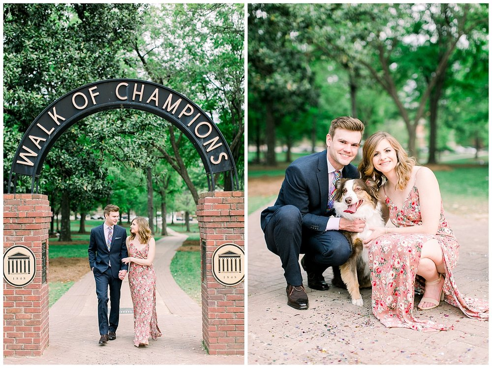 Ole Miss Engagement Session by Mary Kate Steele Photography