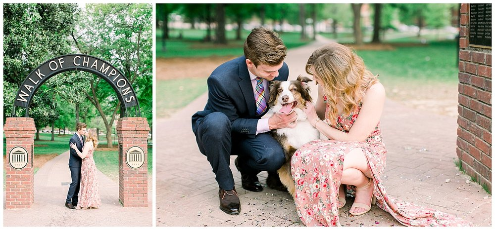 University of Mississippi Engagement Session by Mary Kate Steele Photography