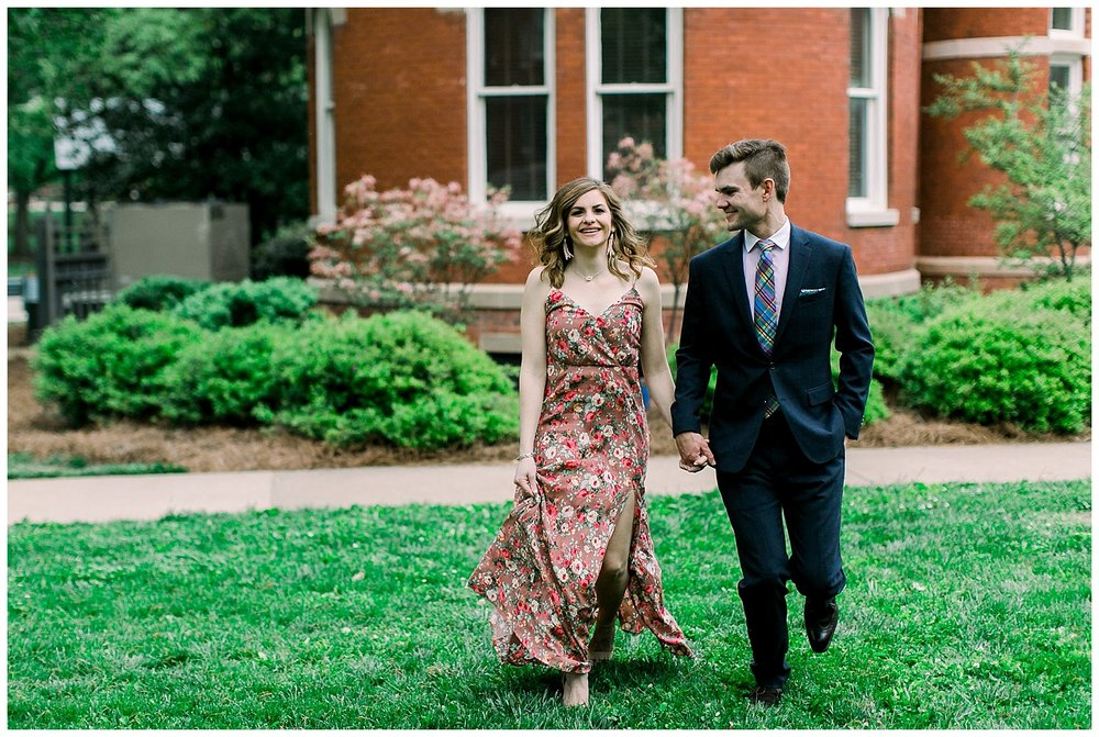 Emily & David Ole Miss Engagement session by Mary Kate Steele Photography