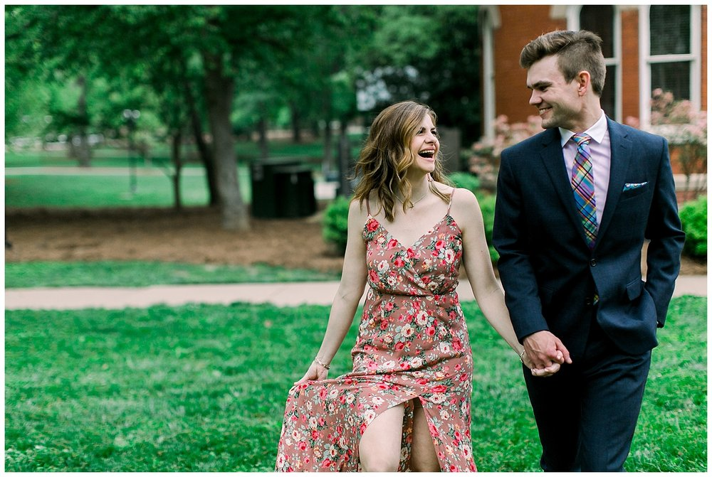 Emily and David Oxford Mississippi Engagement session by Mary Kate Steele Photography
