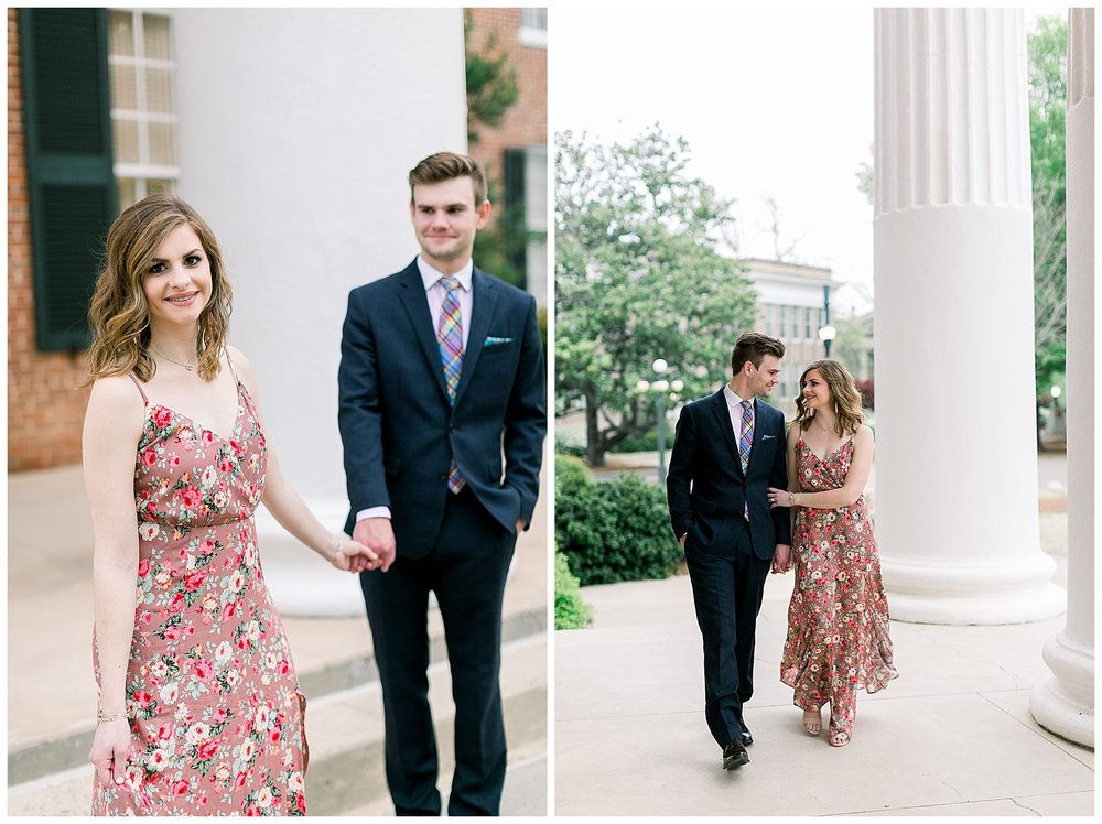 Emily and David Ole Miss Engagement Session by Mary Kate Steele Photography