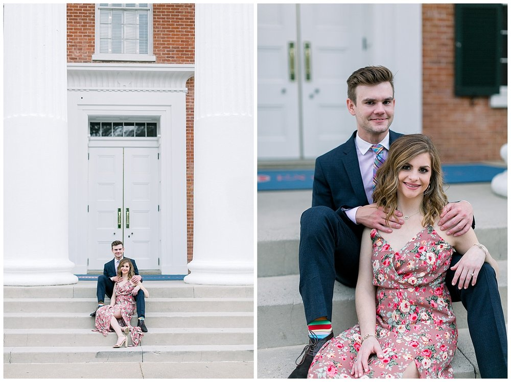University of Mississippi Oxford Engagement Session by Mary Kate Steele