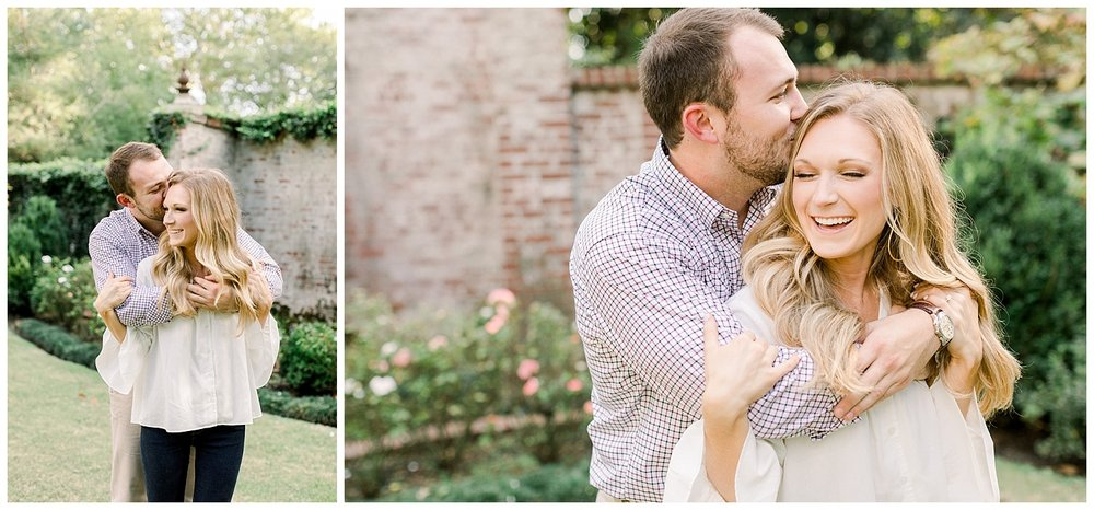Kailan and Tyler Engagement Session at Annesdale Mansion shot by Mary Kate Steele Photography