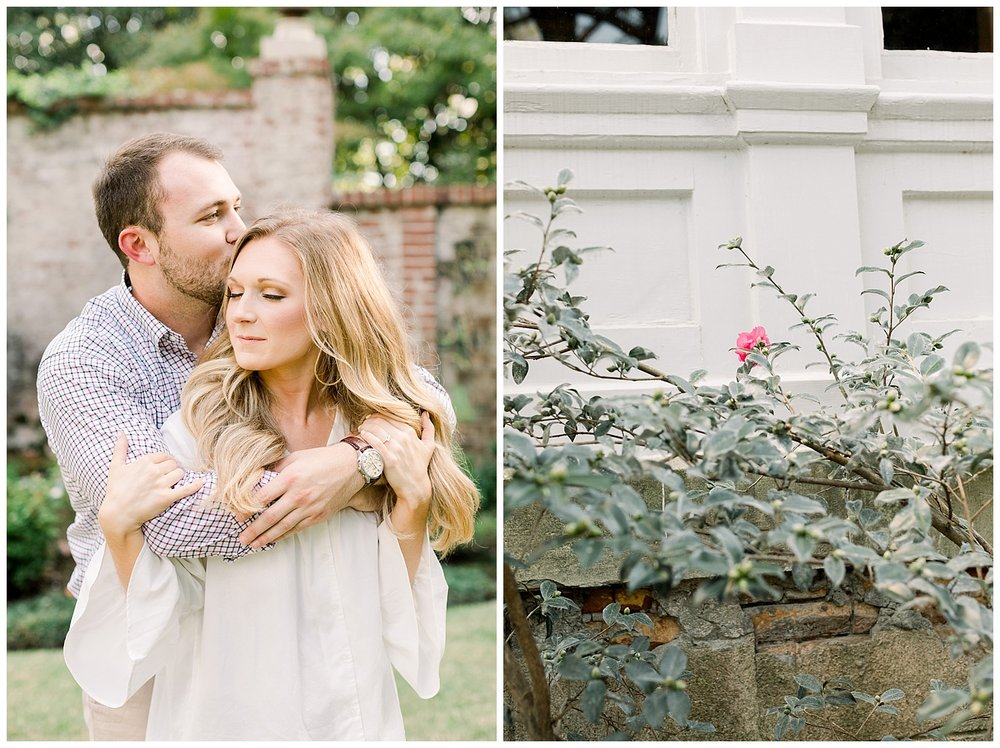 Kailan and Tyler Memphis Engagement Session at Annesdale Mansion shot by Memphis Wedding Photographer Mary Kate Steele Photography