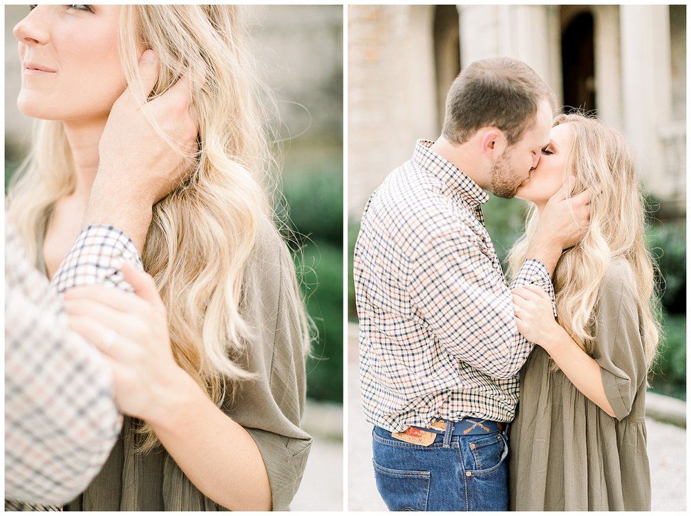 Kailan and Tyler Annesdale Mansion Engagement Session shot by Mary Kate Steele Photography