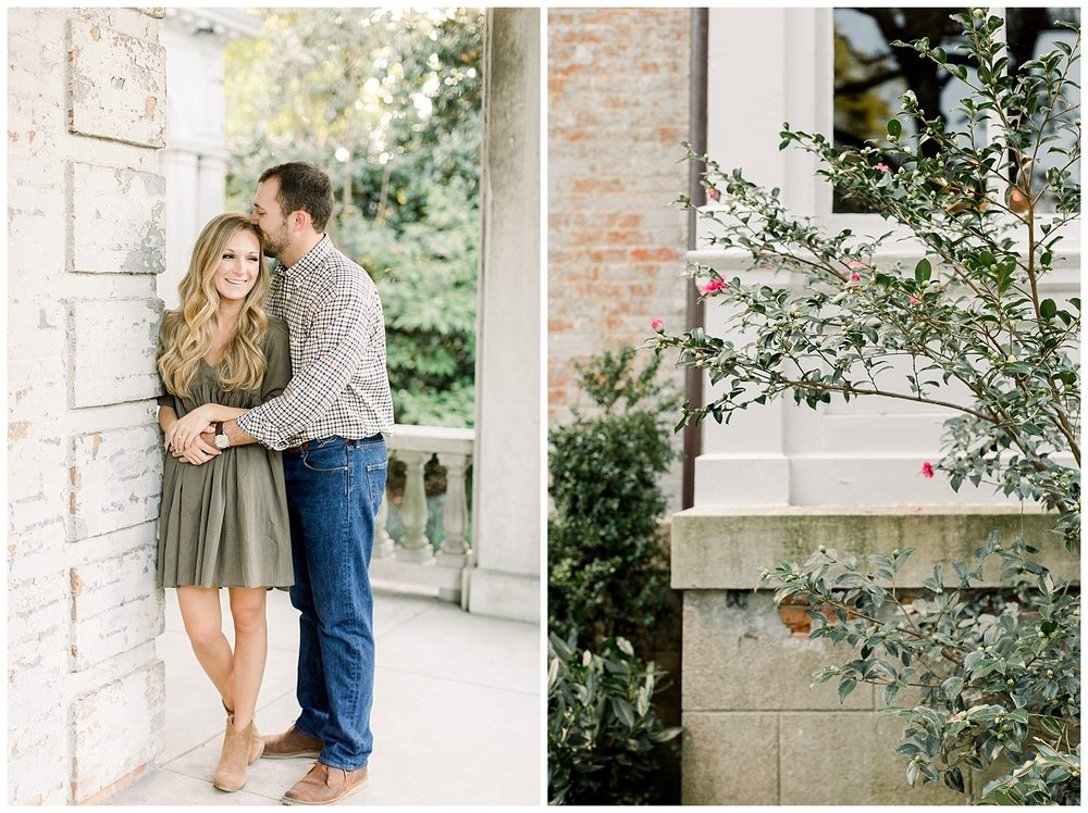 Kailan and Tyler Engagement session at Annesdale Mansion shot by Mary Kate Steele Photography Luxury wedding photographer