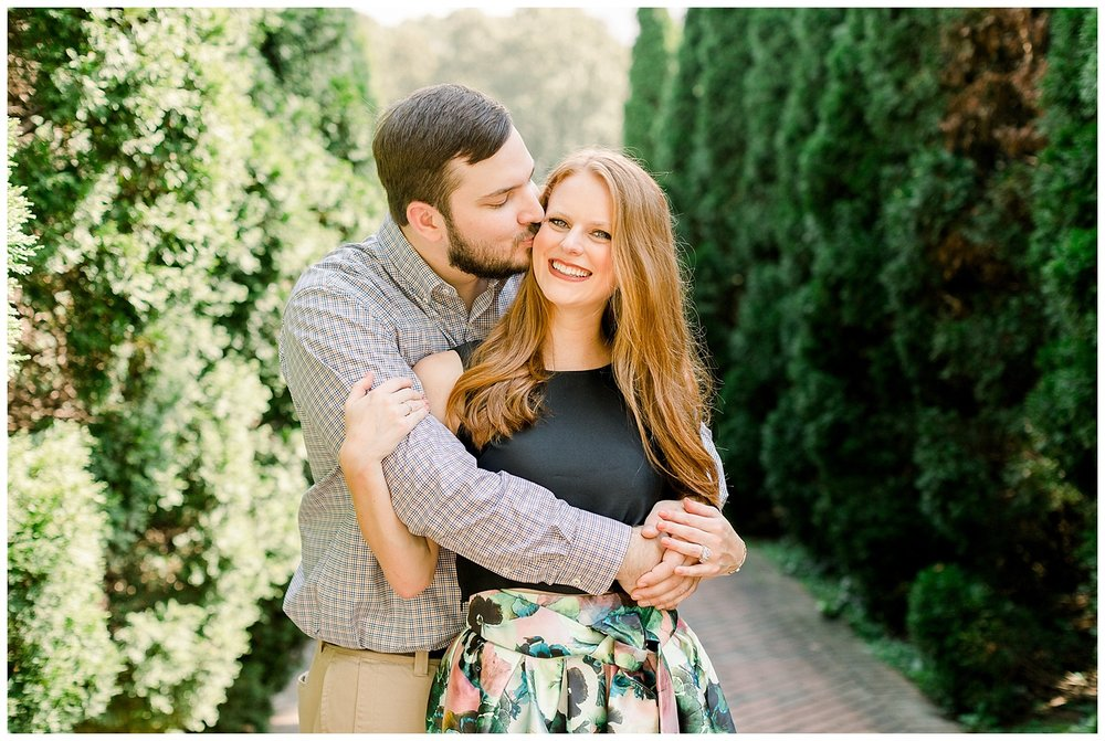 Megan and Kyle Botanic Gardens Engagement Session shot by Mary Kate Steele Photography Tennessee Wedding Photographer