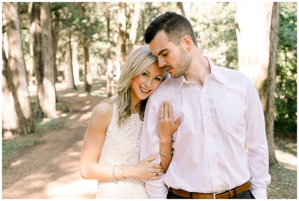 Katie and Jared Rowan Oak Engagement Session shot by Mary Kate Steele Photography Oxford Mississippi wedding photographer