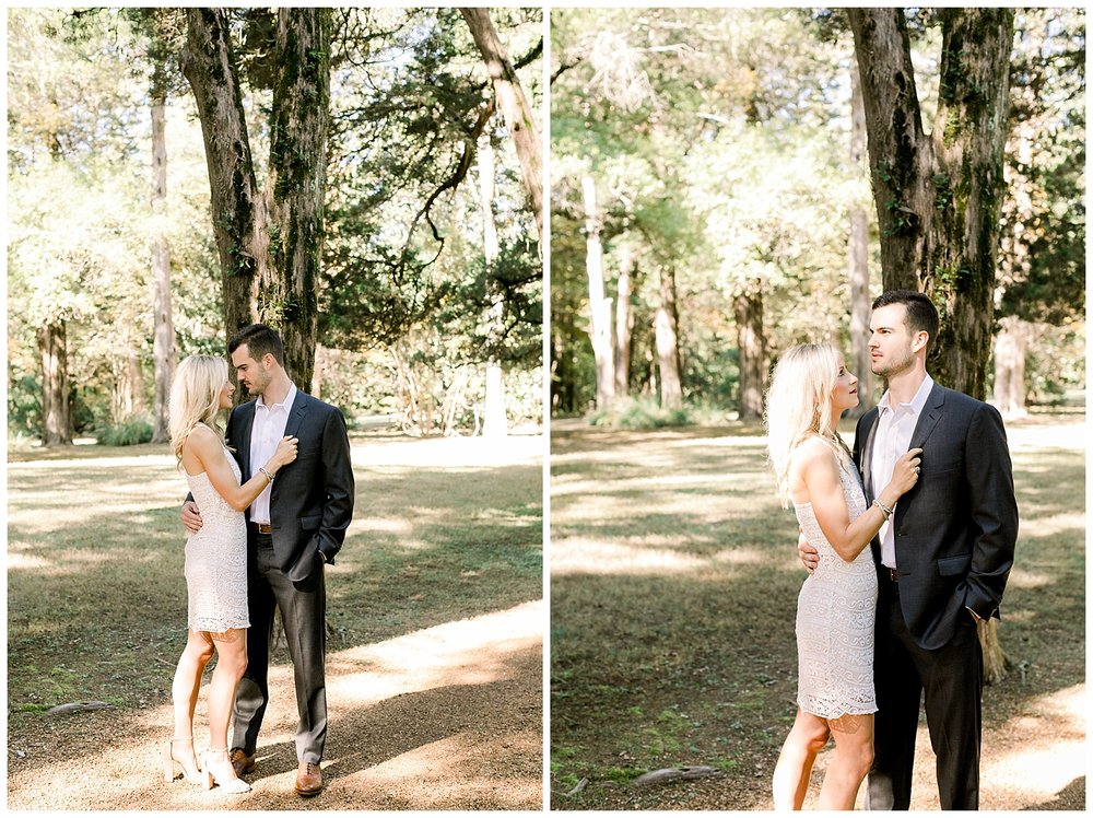 Katie and Jared Rowan Oak Engagement Session shot by Mary Kate Steele Photography Luxury Memphis Wedding Photographer