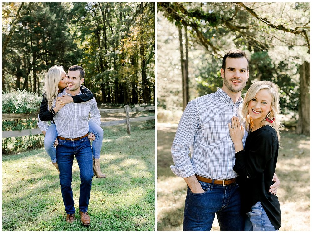 Katie and Jared Rowan Oak Engagement Session shot Mary Kate Steele Photography Oxford Wedding Photographer