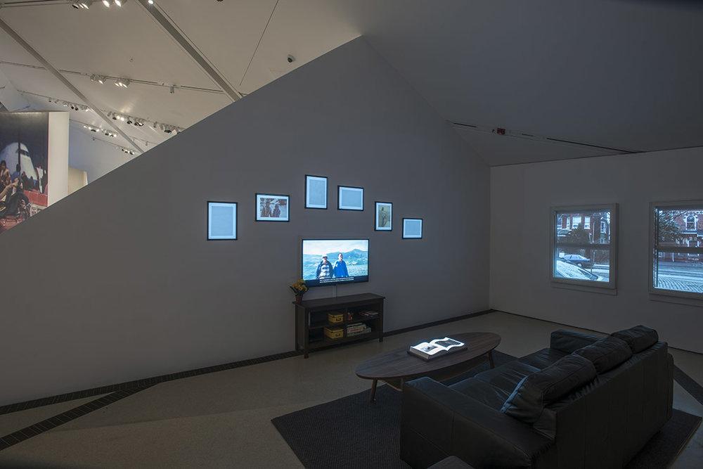 The Family Camera, installation view of The Living Room (2017) by OCADU (Photo: Brian Boyle MPA, FPPO photo, 2017 © ROM)