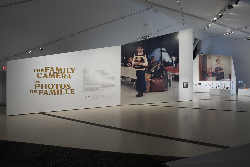 THE FAMILY CAMERA,  INSTALLATION VIEW (BRIAN BOYLE MPA, FPPO PHOTO, 2017 © ROM)