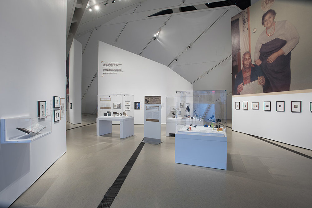 THE FAMILY CAMERA, INSTALLATION VIEW, 2017. COURTESY OF THE ROYAL ONTARIO MUSEUM © ROM. PHOTO CREDIT: BRIAN BOYLE, MPA, FPPO.