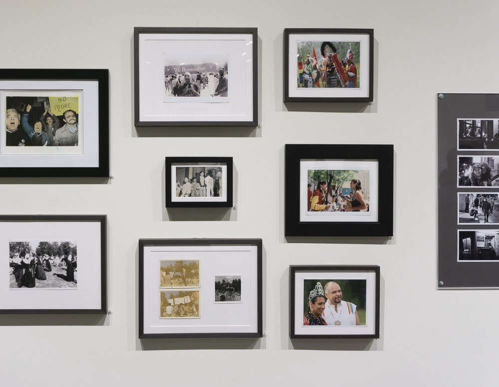 Installation of  Queering Family Photography  at Stephen Bulger Gallery. Photo: M. Kasumovic, 2018.