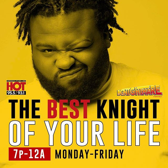 Share this!!! #bestknightofyourlife  on @hotaugustafm  download the hot mobile app!!!