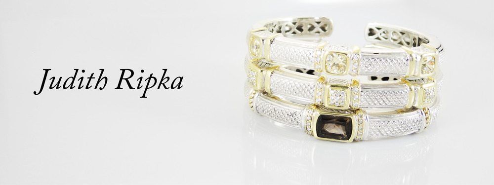 Judith Ripka jewelry offers classic styles that reflect the contemporary woman sharing her unique interpretation of color, gemstones, and metals.