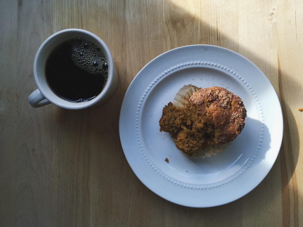 Maple Pumpkin Muffins | All Purpose Flour Child