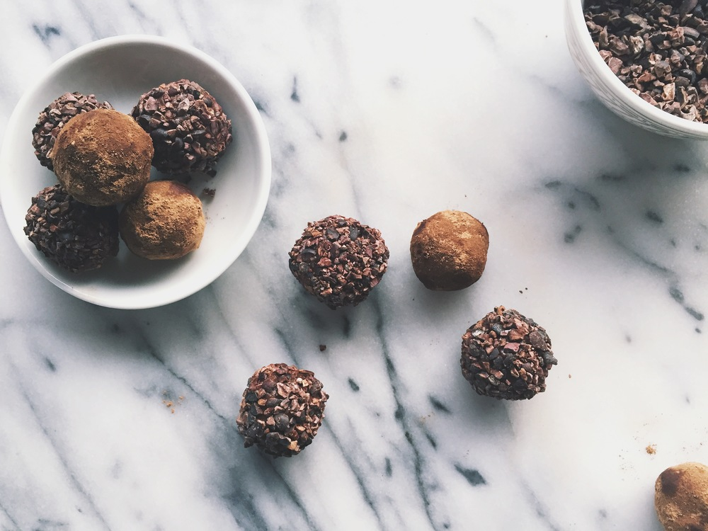 Raw Vegan Chocolate Truffles | All Purpose Flour Child
