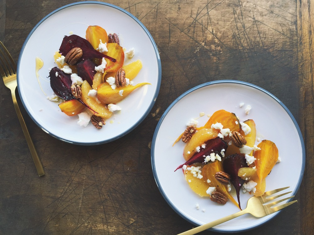Roasted Beet + Orange Salad with Goat Cheese | All Purpose Flour Child