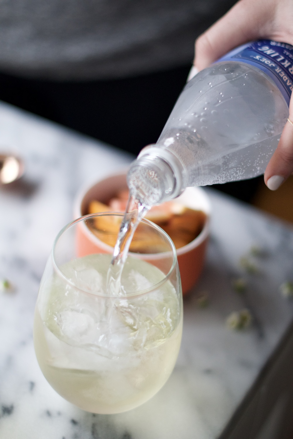 Springtime Spritzer with Rosewater + Citrus | All Purpose Flour Child