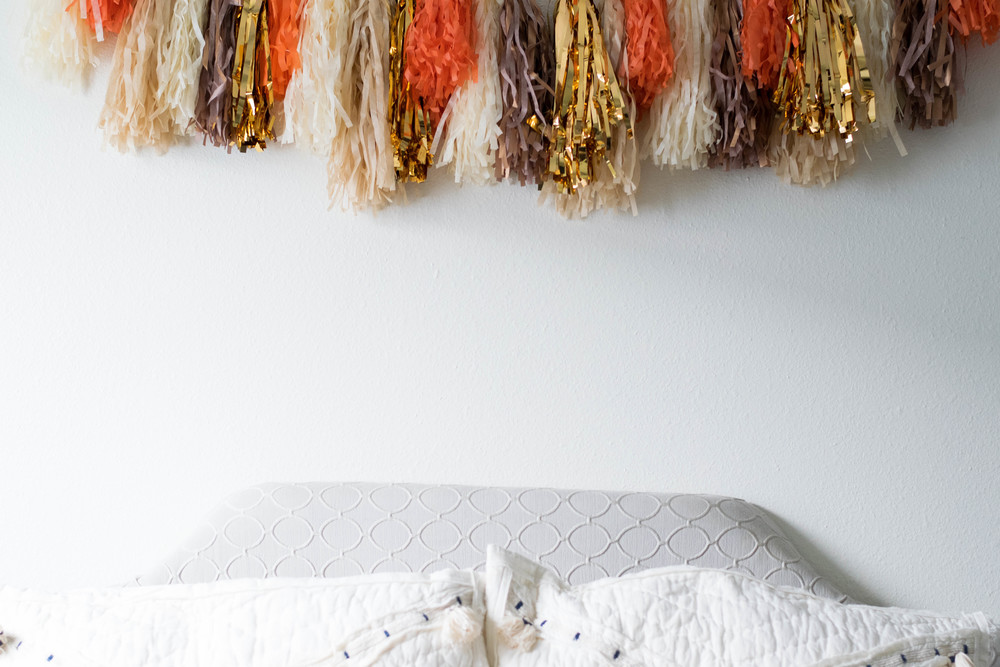 DIY Tassel Garland | All Purpose Flour Child
