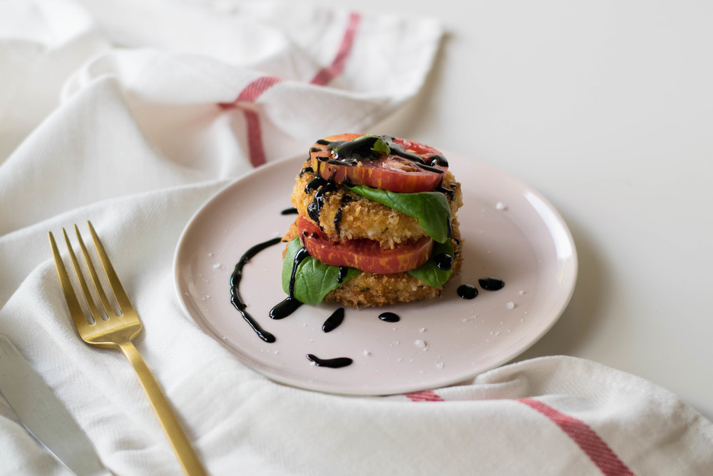 Crispy Caprese Stack | All Purpose Flour Child