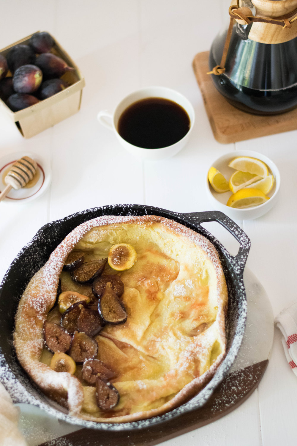 Dutch Baby with Honey Roasted Figs | All Purpose Flour Child