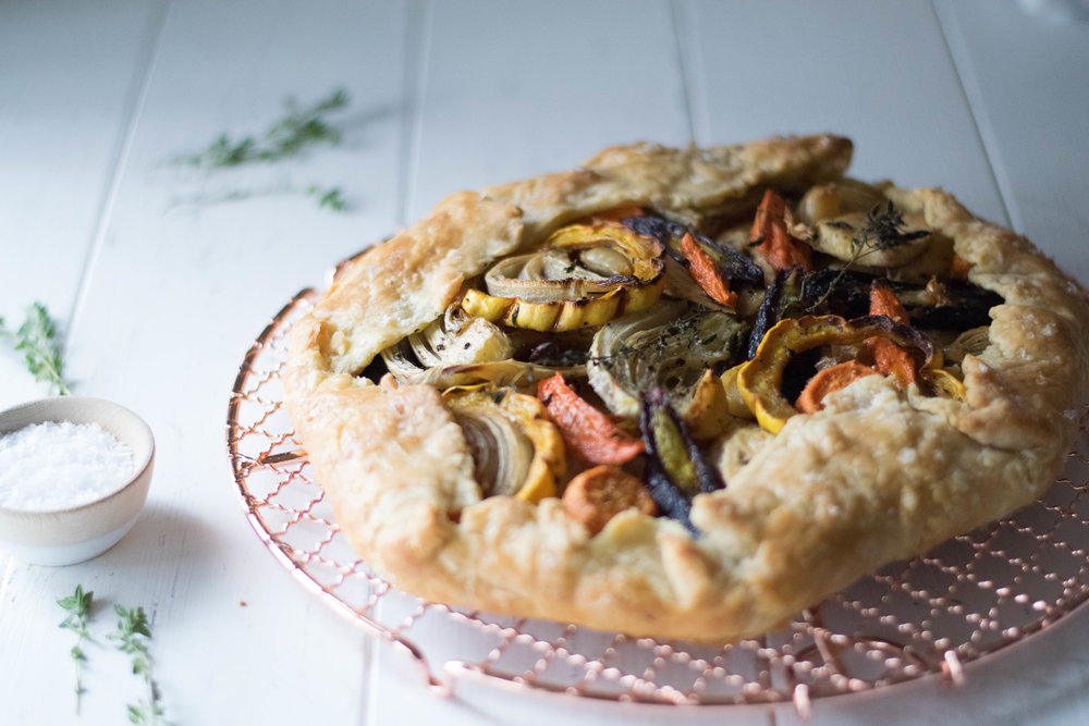 Cozy Root Vegetable Galette | All Purpose Flour Child