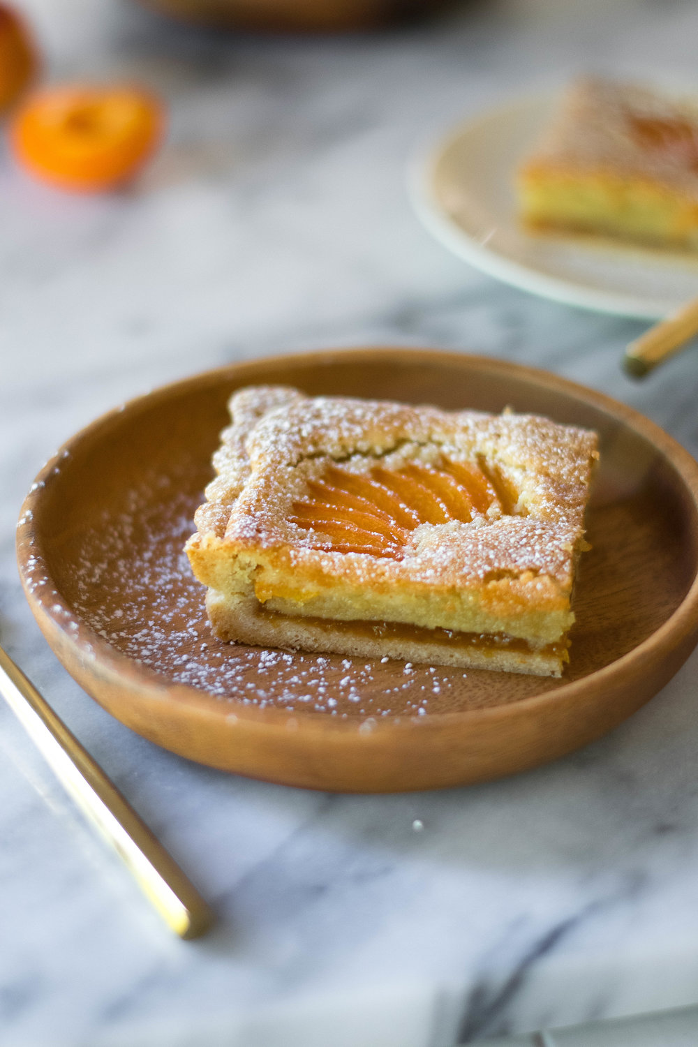 Apricot + Almond Bakewell Tart // Sponsored By Cook Flavoring Company | All Purpose Flour Child
