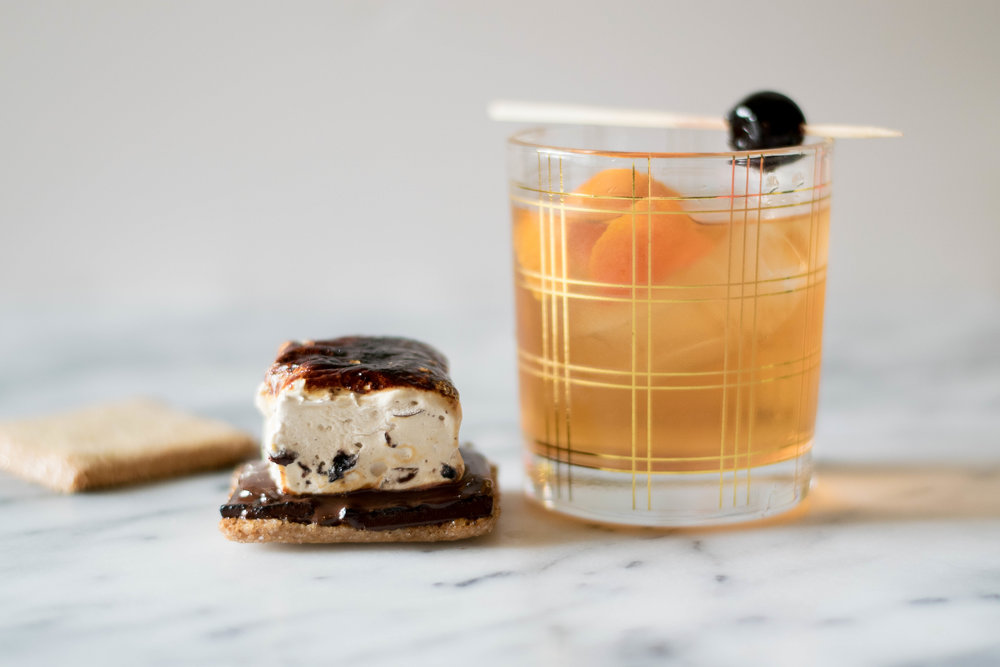 Cocktail-Inspired: The Old Fashioned x S'mores! | All Purpose Flour Child