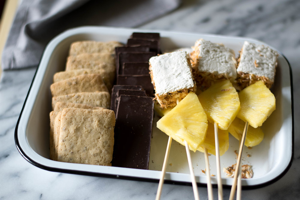 Cocktail-Inspired: Piña Colada x S'mores! | All Purpose Flour Child