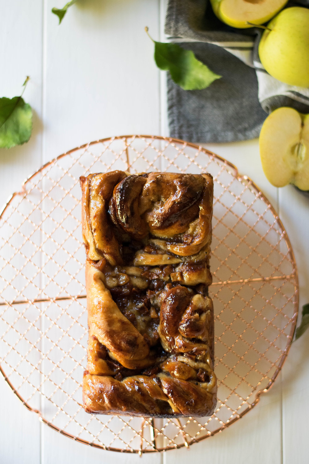Triple Apple Babka | All Purpose Flour Child