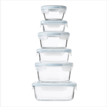 Oxo Glass-lock Storage Containers