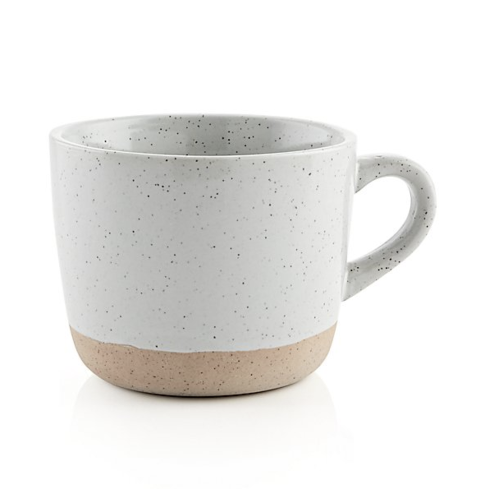 Crate & Barrel Welcome Mug